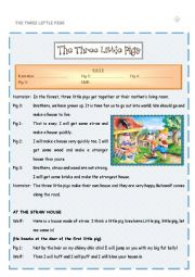 The three little pigs - Playscript for fun drama classes