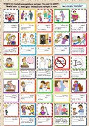 English Worksheet: Good resolutions