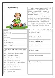 Text and comprehension