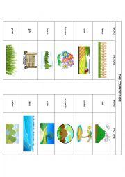 English Worksheet: COUNTRYSIDE