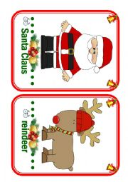Christmas Flashcards - part 1 (Fun Kids English