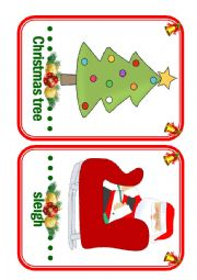 Christmas Flashcards - part 2