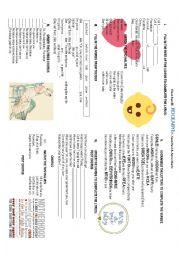 English Worksheet: Rockabye Baby by Clean Bandit