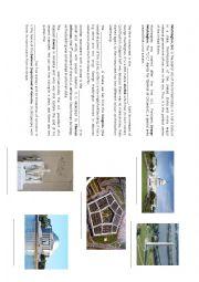 English Worksheet: Washington Monuments