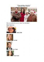 Christmas movie Deck the Halls