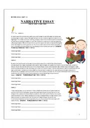 Narrative Writing - writing a story