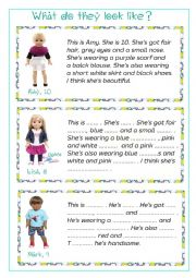 Describing appearance (FACE, CLOTHES) - WRITING - 2 pages