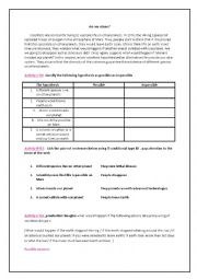English Worksheet: Aliens and Space