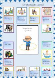 English Worksheet: My Childhood Memories (Used to)