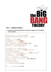 english worksheets the big bang theory. Black Bedroom Furniture Sets. Home Design Ideas