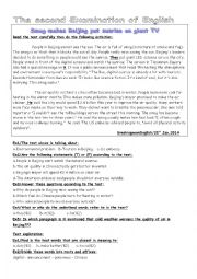 English Worksheet: pollution in china