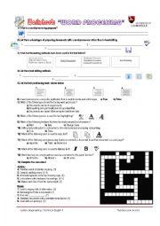 Worksheets Word Processing Worksheets word processing worksheets