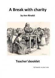 English Worksheet: a break with charity teacher�s booklet