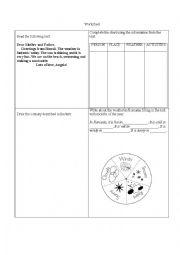 english worksheets the weather worksheets page 177. Black Bedroom Furniture Sets. Home Design Ideas