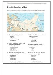 English Worksheet: Worksheet about European countries