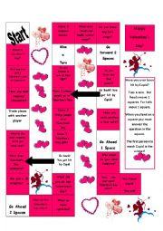 Conversation about Valentines Day
