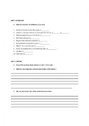 English Worksheet: jack the ripper test