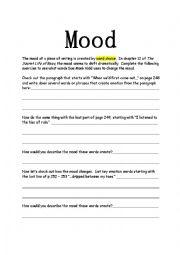Mood in The Secret Life of Bees - ESL worksheet by christine ...