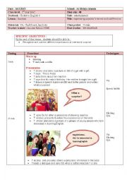 English Worksheet: lesson plan of expressing surprise/ interest and indifferencens