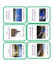 English Worksheet: Unusual Structures Go Fish
