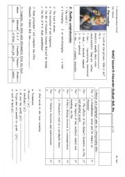 English Worksheet: Alexander Graham Bell, the..