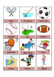 Sport pictionary