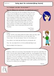 writing and reading activity