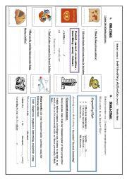 English Worksheet: module 3 section 1 part 1