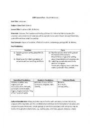 english worksheets siop plan eruption mt st helens. Black Bedroom Furniture Sets. Home Design Ideas