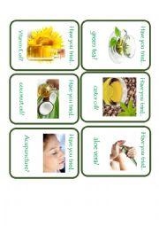 English Worksheet: Natural Remedies Go FIsh