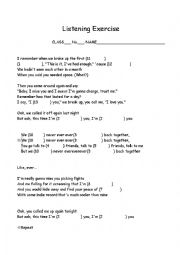 English Worksheet: Taylor Swift