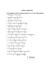 random multiple choice questions