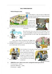 English Worksheet: English Test - Types of Houses