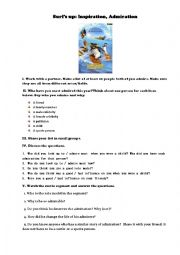 English Worksheet: Surf