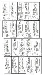 English Worksheet: Yes-No questions classroom objects