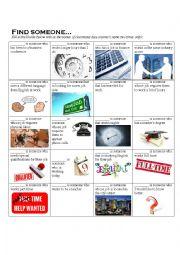 English worksheet: Business English Warm Up