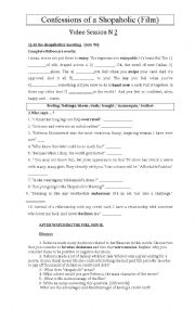 English Worksheet: Confession of a Shopaholic (movie)