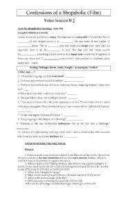 english worksheets using movies worksheets page 234. Black Bedroom Furniture Sets. Home Design Ideas