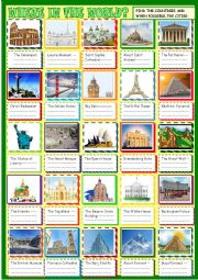 Where in the world? famous landmarks