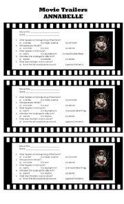 Movie Trailers: Annabelle