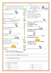 English Worksheet: You�re still the one - by Shania Twain