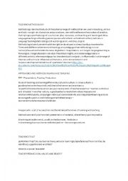 English Worksheet: Teaching Methodology