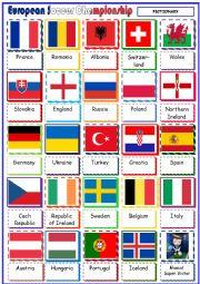 English Worksheet: European Soccer Championship