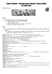 English Worksheet: Conditional Sentences with The Big Bang Theory