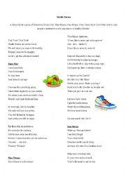 English Worksheet: Think Tales 9 ( Health Heroes)