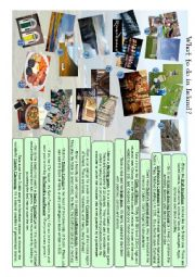 English Worksheet: Tourism in Ireland - What to do?