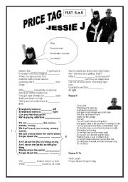SONG PRICE TAG JESSIE JAY