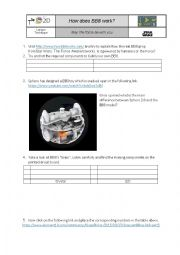 English Worksheet: How does BB8 work?