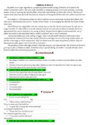 English worksheet: Global test bac 2