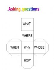 English Worksheet: ASKING QUESTIONS ICE BREAKER